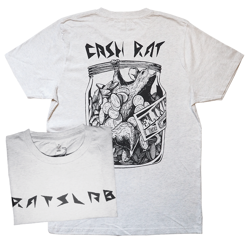RATSLAB - Camiseta ecológica de algodón orgánico